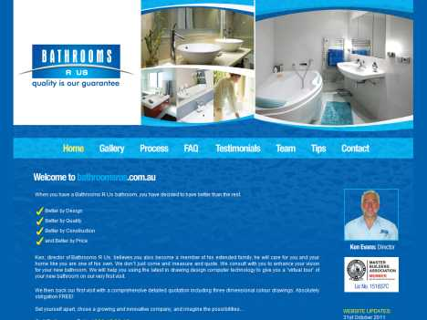 www.bathroomsrus.com.au | Bathrooms R Us Official Website